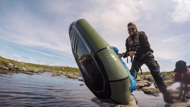 Lifting Raft Bay Du Nord