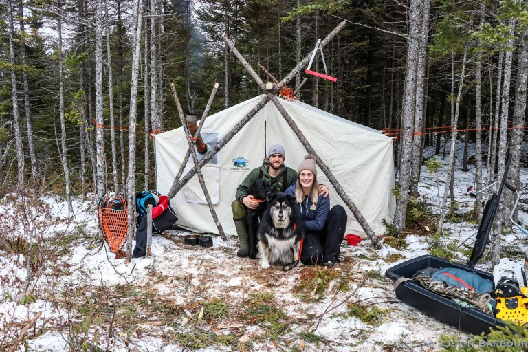 "Video: A TOUR of my Traditional Canvas ""Labrador"" Camp"